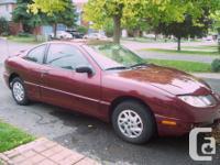 Make Pontiac Colour burgundy Trans Manual kms 194000