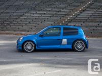 Make Renault Model Clio Year 2003 Colour Blue kms