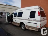 SOLD,2003 ROADTREK WIDE BODY 200 VERSATILE CLASS B VAN