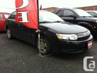 Make Saturn Model Ion Year 2003 Colour Black kms