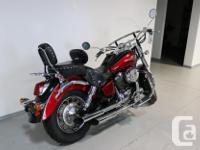 This 2003 Shadow 750 is in great shape and sounds even