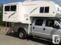 "2003 Snowbird camper model 810DS, length 8'10"" with"