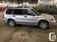 Make Subaru Model Forester Year 2003 Colour Silver kms