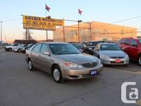 Khyber Motors ltd  2003 Toyota Camry LE TO SEE MORE