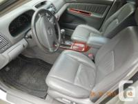 Make Toyota Model Camry Year 2003 Colour silver kms