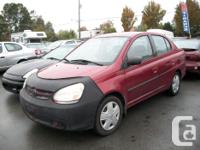 Make Toyota Model Echo Year 2003 Colour Red kms 251000