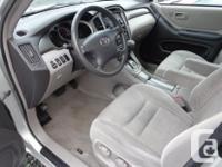 Make Toyota Model Highlander Year 2003 Colour grey kms