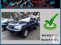This 2003 Toyota Highlander merely came in super tidy!
