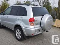 Make Toyota Model RAV4 Year 2003 Colour Silver kms