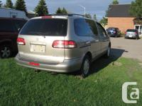 Make Toyota Model Sienna Year 2003 Colour gold kms