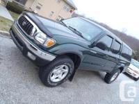 Up for sale is a 2003 Toyota Tacoma SR5 4x4 Crew Cab