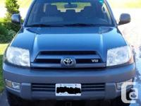 2003 Toyota 4Runner SR5 4X4, in superb driving and