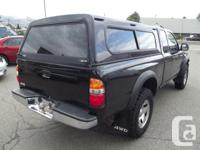 Make Toyota Model Tacoma Colour Black Trans Automatic