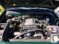 Make Toyota Model Tundra Colour Green Trans Automatic