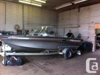 Great family or angling watercraft 2003 Tracker Tundra