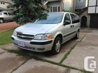 2003 Silver Chevrolet Venture (Prolonged). 7 Seats.