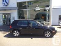 This 2003 Golf GLS TDI has a manual transmission and is