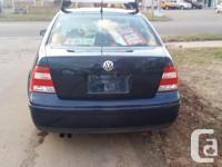 Make Volkswagen Model Jetta Year 2003 Colour Blue kms