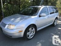 Great Jetta Wagon with only 189K Nice balance of power