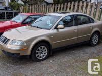 Make Volkswagen Model Passat Sedan Year 2003 Colour