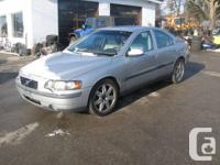 2003 Volvo T5 S60 Sale Price: $4,800.00    VIN #: