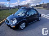 Make Volkswagen Model Beetle Year 2003 Colour Black