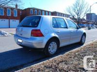 2003 VW GOLF GLS 4 CYLINDER 2.0L AUTOMATIC --132500Km -