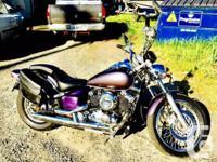 Make Yamaha Model V-Star Year 2003 kms 14000 This bike