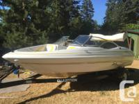 -5.0L Volvo Penta -Full canvas -Bow cover -Removable