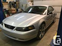 Make Ford Model Mustang Colour silver Trans Manual kms