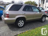 Make Acura Model MDX Year 2004 Colour Beige kms 165685