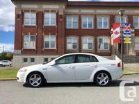 Make Acura Model TL Year 2004 Colour White kms 230000