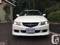Make Acura Year 2004 Colour White Trans Manual kms