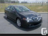 Make Acura Model TSX Year 2004 Colour Black kms 218000