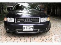 London, ON 2004 Audi A4 Quattro $12,000 This