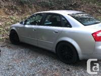 Colour Silver Trans Manual kms 225000 2004 Audi A4 for