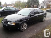 Make Audi Model A6 Year 2004 Colour Black kms 190400