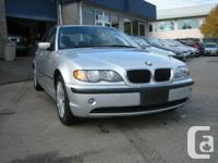 ear: 2004  Make: BMW  Model: 3-Series  Trim: 320i