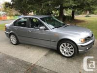 Make BMW Model 320i Year 2004 Colour silver kms 187000