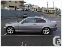 2004 BMW E46 325 ci with Sport Package. 2.5 L inline 6, used for sale  British Columbia