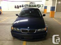 A perfectly kept and maintained 2004 BMW 330i w ~115K
