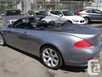 Make BMW Model 645 Year 2004 Colour Grey kms 102836