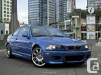 For sale: 2004 BMW E46 M3  Non smoker, garage kept,