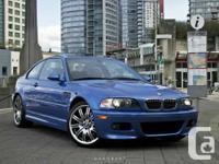 For sale: 2004 BMW E46 M3  Non smoker, garage kept,