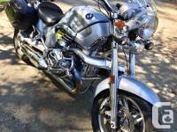 Make BMW Year 2004 kms 98000 R1200C Montauk,