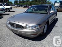 Make Buick Model LeSabre Year 2004 Colour brown kms for sale  British Columbia