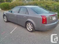 Make Cadillac Model CTS Colour Titanium Trans