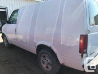 Make Chevrolet Model Astro Cargo Van Year 2004 Colour
