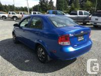 Make Chevrolet Model Aveo Year 2004 Colour Blue kms