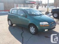 2004 Chevrolet Aveo LS, 4cyl, Manuelle, 5portes,